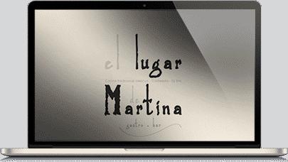 El diseño del restaurante la martina